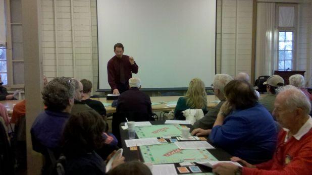 Tim Vandenberg presenting