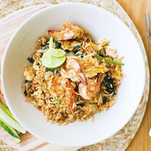 Hoy toca receta de arroz frito Tailandés
