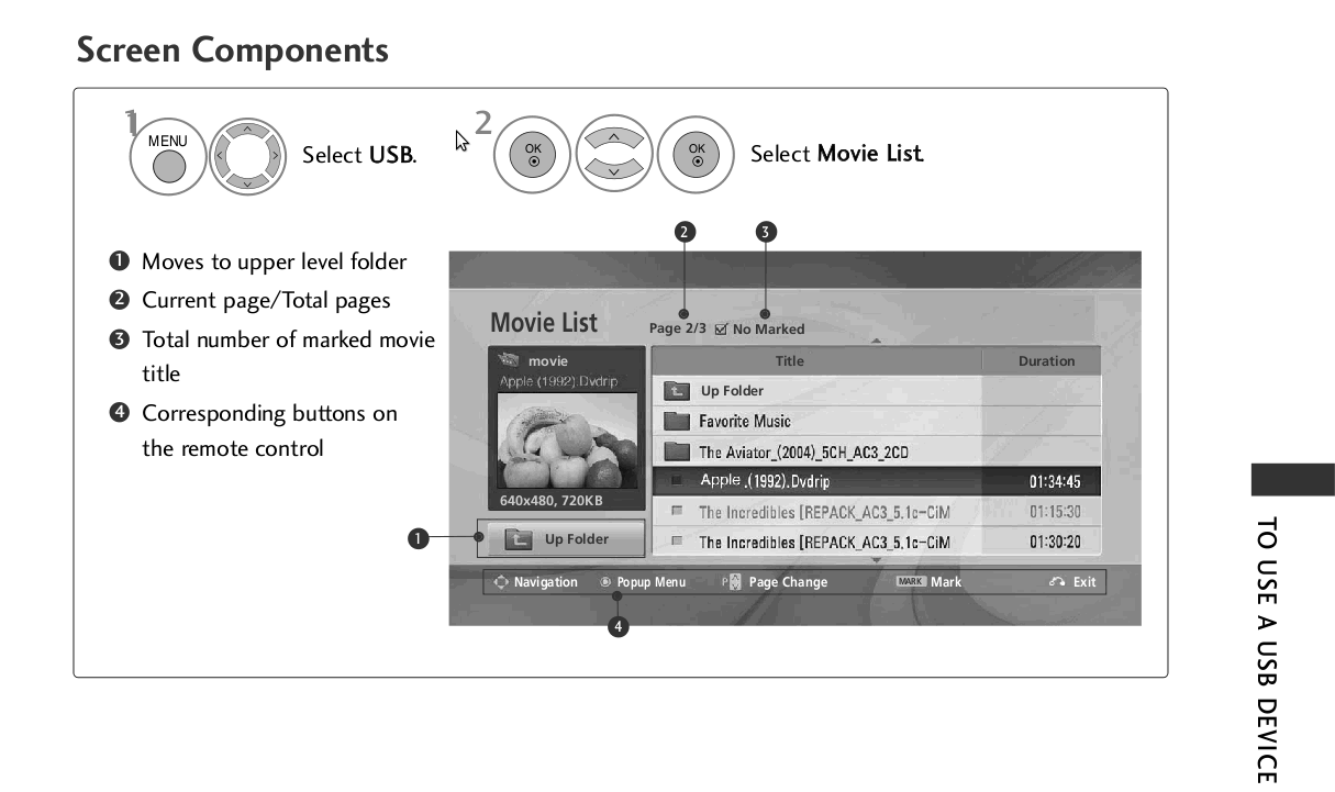 LG User Manual Tutorial on watching pirated movies