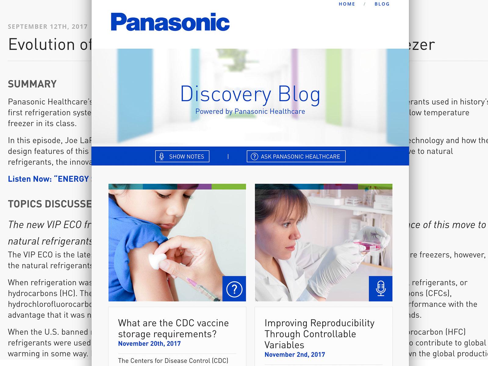 Discovery Blog   Panasonic Healthcare - Panasonic Healthcare 2017-12-07 18:00