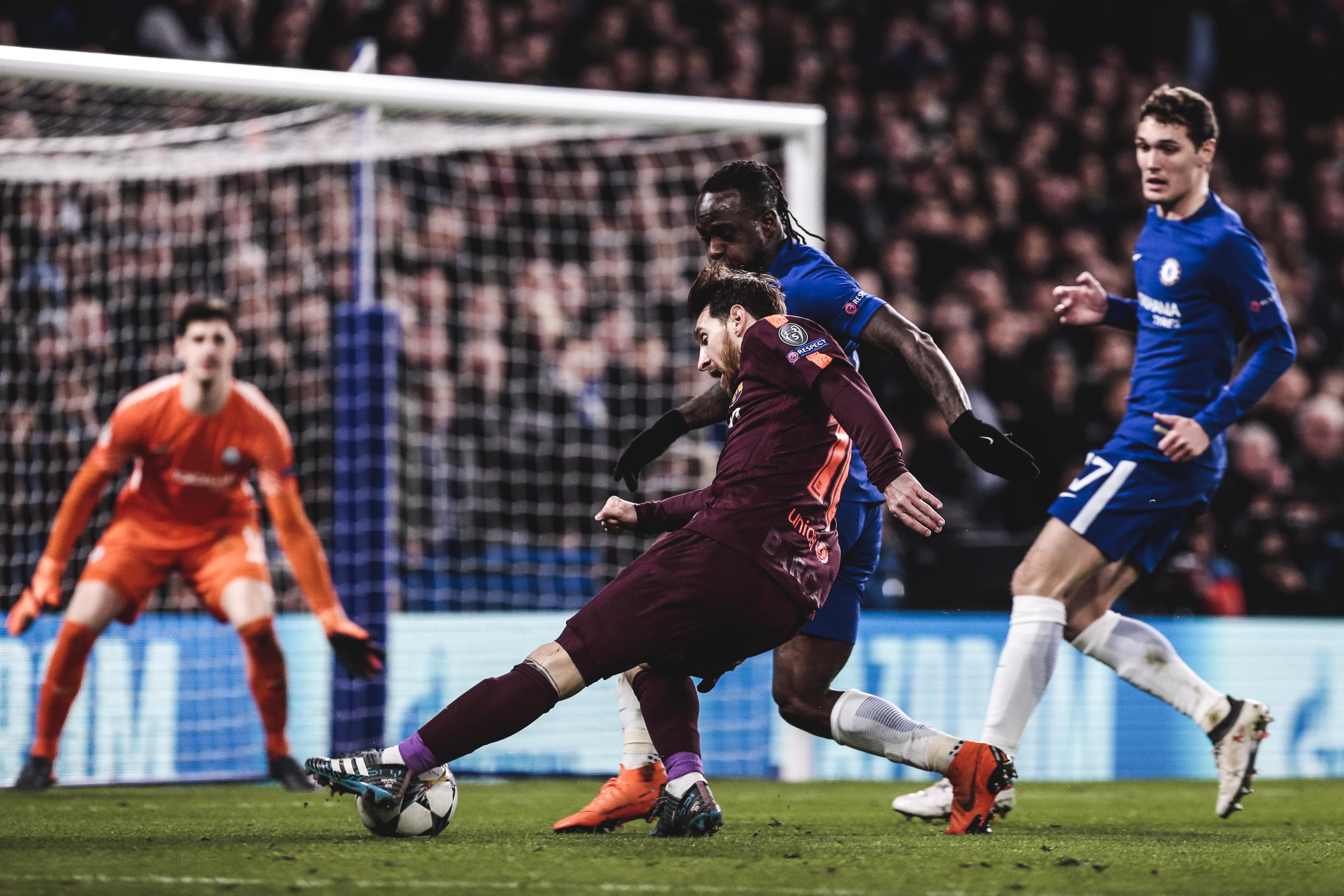 VIDEO HIGHLIGHTS: Chelsea v Barça (1-1)