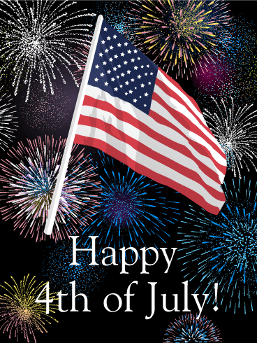 Have a wonderful and safe 4th of July!