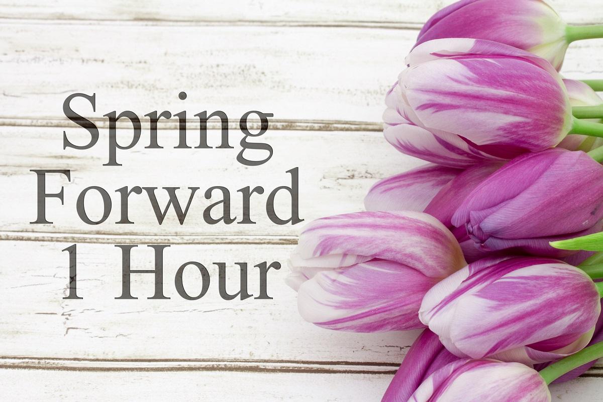 Daylight Savings Spring Forward Tonight!