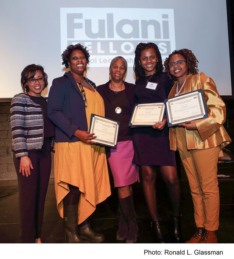 Congratulations to the inaugural class of Fulani Fellows on their graduation!  Musiki Glover, Ashley McLain and Sacred Walker spent the last five months training with ASP co-founder Dr. Lenora Fulani in a rigorous immersion to the on-the-ground practice, methodology and approach to human development employed in the programs of the All Stars Project. The Fulani Fellowship is possible thanks to special grants from the East Side Institute and Performance of a Lifetime.  The second term will be held from August – December 2017 in New York City and applications are due by April 1, 2017. Follow the link to learn more about the Fulani Fellowship and pass it along to anyone who may be interested in applying!
