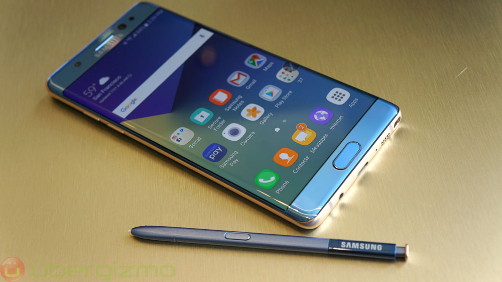 Android Nougat Officially Lands on the Galaxy Note 5