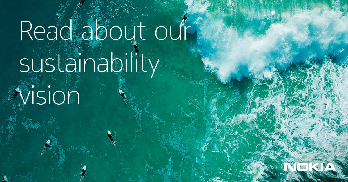 Our sustainability vision - Nokia
