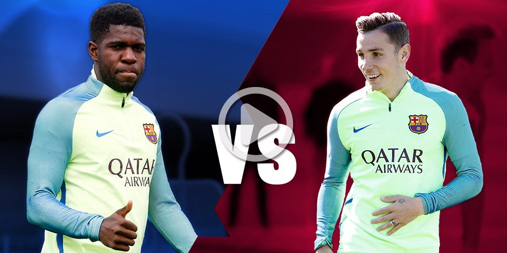 Face to Face: Umtiti vs. Digne  FC Barcelona