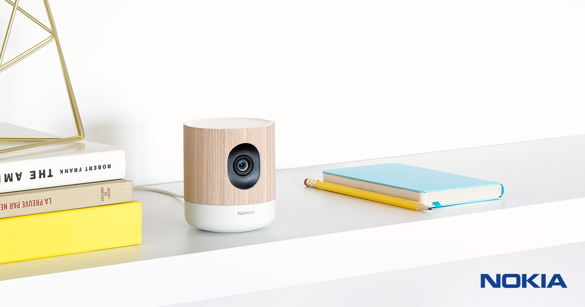 Nokia Home | HD Home Monitoring Camera - Nokia 2017-07-26 14:10